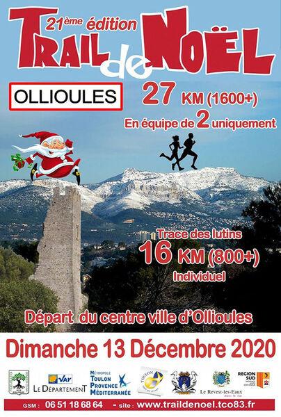 Trail de Noël à Ollioules - 0