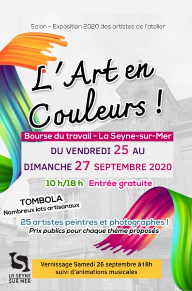 """Annulé : Exposition """"L'Art en couleurs"""" à La Seyne-sur-Mer - 0"""
