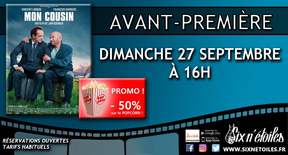 """Preview of the film """"Mon cousin"""" (My cousin) à Six-Fours-les-Plages - 0"""