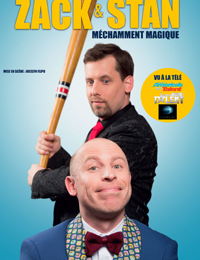 Spectacle – Zak et Stan « Méchamment magique » à Toulon - 0