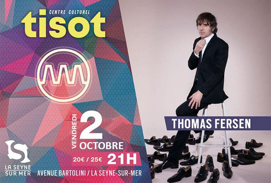 Concert de Thomas Fersen à La Seyne-sur-Mer - 0