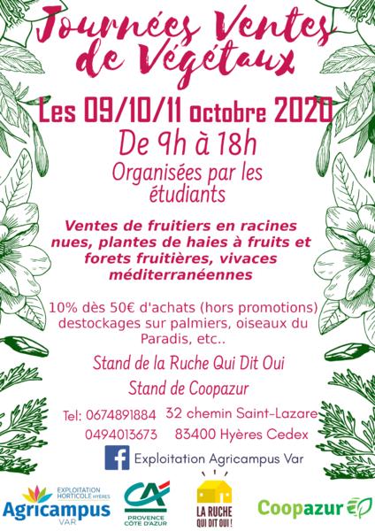 Journées vente de végétaux à Hyères - 0