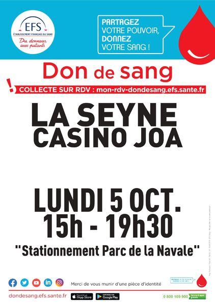Blood collection à La Seyne-sur-Mer - 0