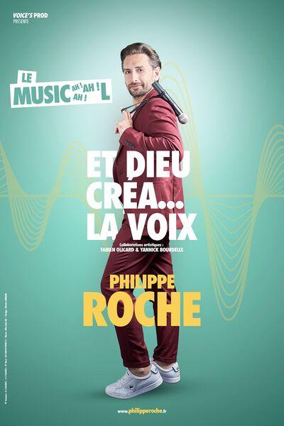 """One man show """"Et Dieu créa la voix"""" with Philippe Roche à Six-Fours-les-Plages - 0"""