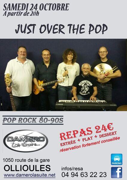 Repas concert avec le groupe Just Over the Pop à Ollioules - 0