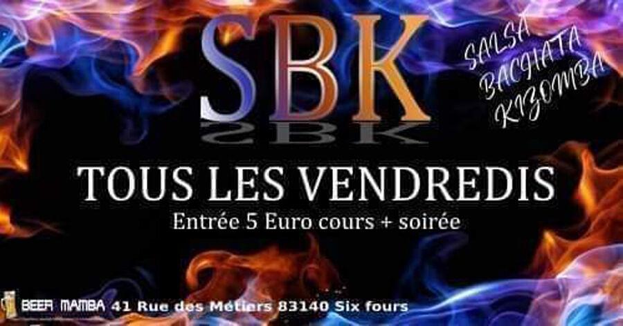 Soirée SBK (salsa, bachata et kizomba) à Six-Fours-les-Plages - 0