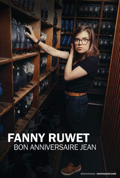 """One woman show """"Happy Birthday Jean"""" by Fanny Ruwet à Six-Fours-les-Plages - 0"""