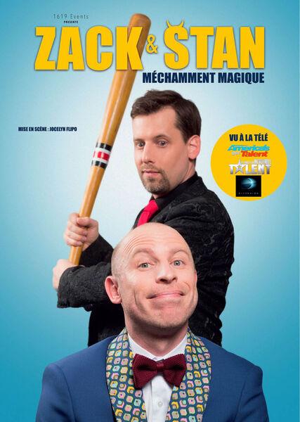 """""""Méchamment magique"""" show with Zack & Stan à Six-Fours-les-Plages - 0"""