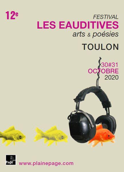 Festival « Les Eauditives » – Arts et poésies à Toulon - 0