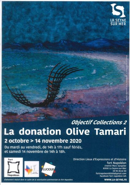 "Exhibition ""Objective Collections 2"" The Olive Tamari donation à La Seyne-sur-Mer - 0"