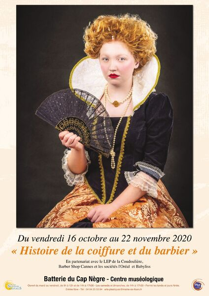"Exhibition ""History of hairdressing and the barber"" à Six-Fours-les-Plages - 0"