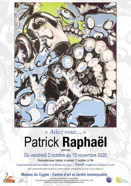 Exhibition of Patrick Raphaël (painting) & Tusoli (kinetic wind sculptures) à Six-Fours-les-Plages - 0