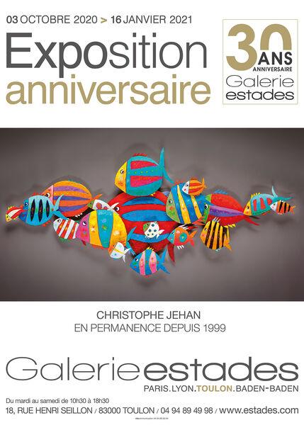 Artistes à découvrir / Exposition anniversaire – 30 ans de la Galerie Estades à Toulon - 0