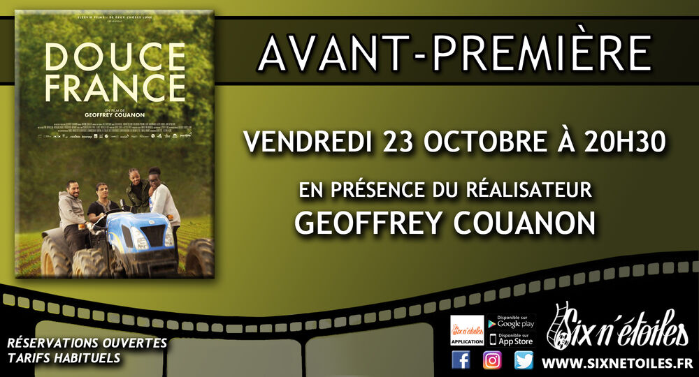 """Avant première du film """"Douce France"""" en présence du réalisateur Geoffrey Couanon à Six-Fours-les-Plages - 0"""