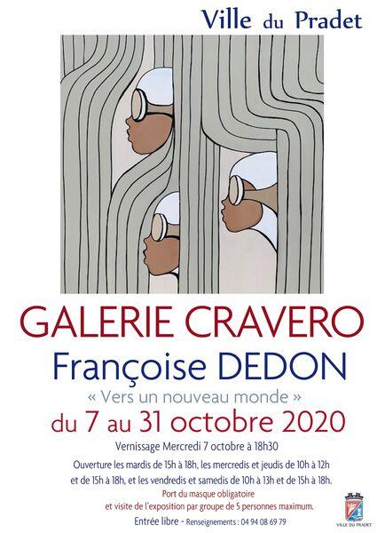 Exposition – Françoise Dedon à Le Pradet - 0