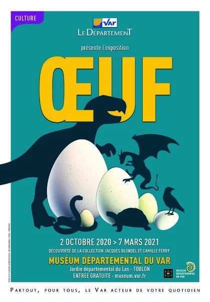Conférence – Des oeufs de dinosaures en Provence à Toulon - 0