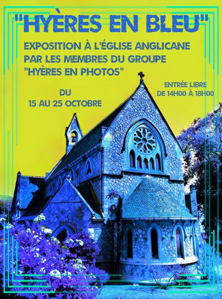 Hyeres in blue / exhibition in Anglican church à Hyères - 0