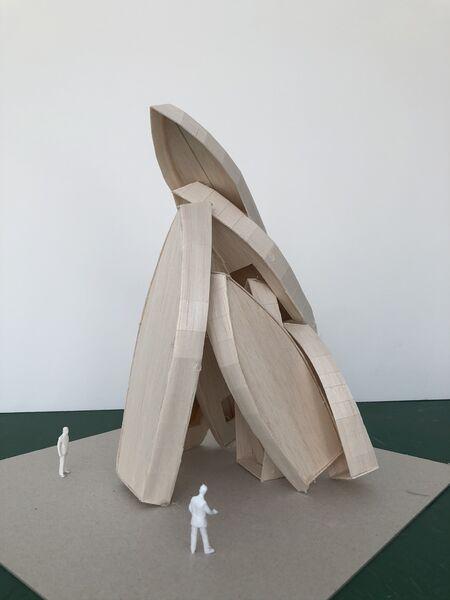 Reporté – Théma Liberté #37 – Passion bleue / Art dans la ville – Installation monumentale de Tadashi Kawamata à Toulon - 1