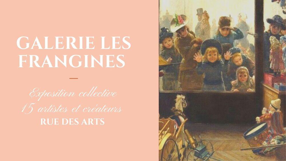 Artistes à découvrir / Exposition collective de Noël – Les Frangines à Toulon - 0