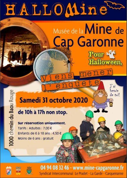 Halloween au Musée de la Mine de Cap Garonne à Le Pradet - 0