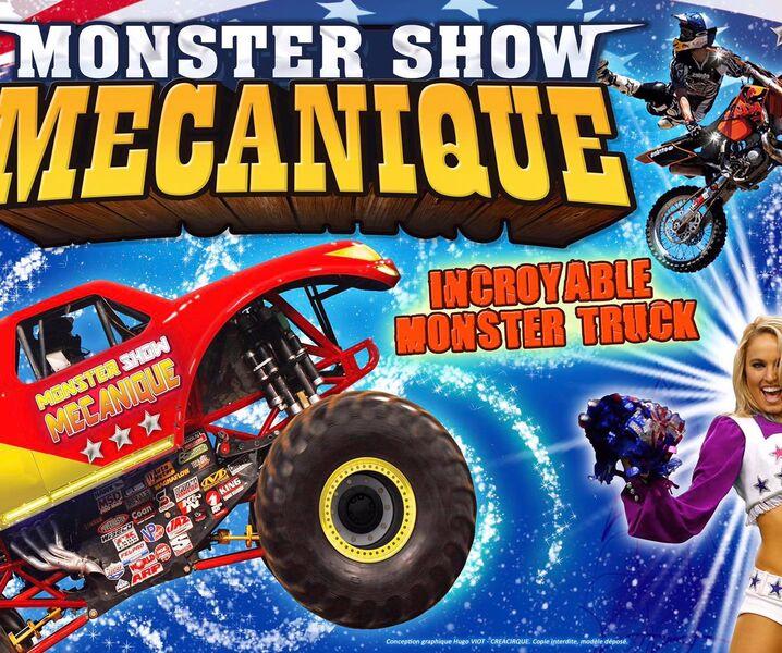 Les Cascadeurs Monster Show mécanique à Hyères - 0