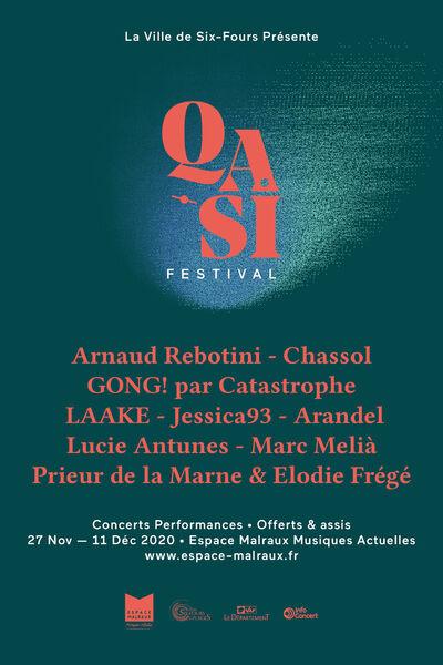 Qasi Festival (concerts performances) : Laake + Arandel à Six-Fours-les-Plages - 0