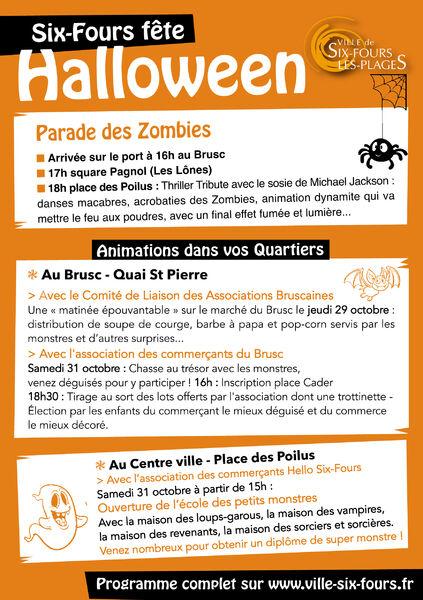 Cancelled: Six Fours Halloween Party à Six-Fours-les-Plages - 1