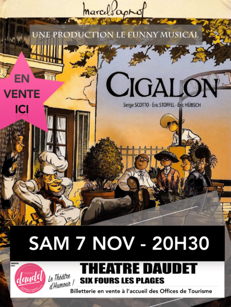 """Théâtre musical """"Cigalon"""" à Six-Fours-les-Plages - 0"""