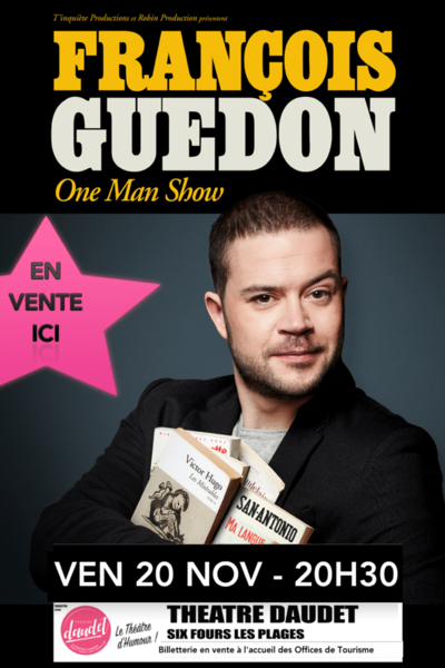 One man show by François Guedon à Six-Fours-les-Plages - 0
