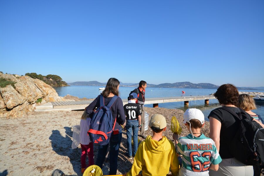 The short course in the bush (special children's guided tour) à Hyères - 3
