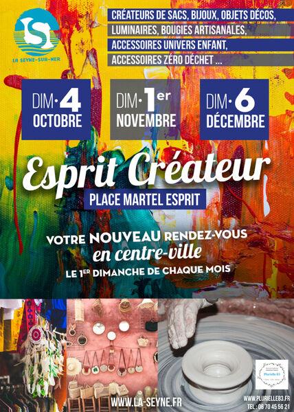 "Cancelled: Creators & Craftsmen Market ""Creative Spirit à La Seyne-sur-Mer - 0"