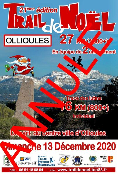 Cancelled: Christmas Trail à Ollioules - 0