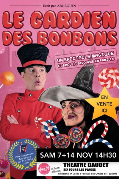 """Children's show """"Le gardien des bonbons"""" by Arlequin & Valérie à Six-Fours-les-Plages - 0"""