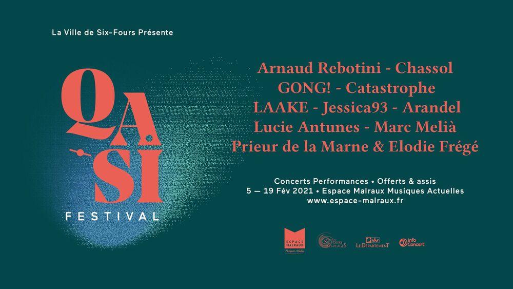 Qasi Festival (concert performances): Gong! by Catastrophe à Six-Fours-les-Plages - 0