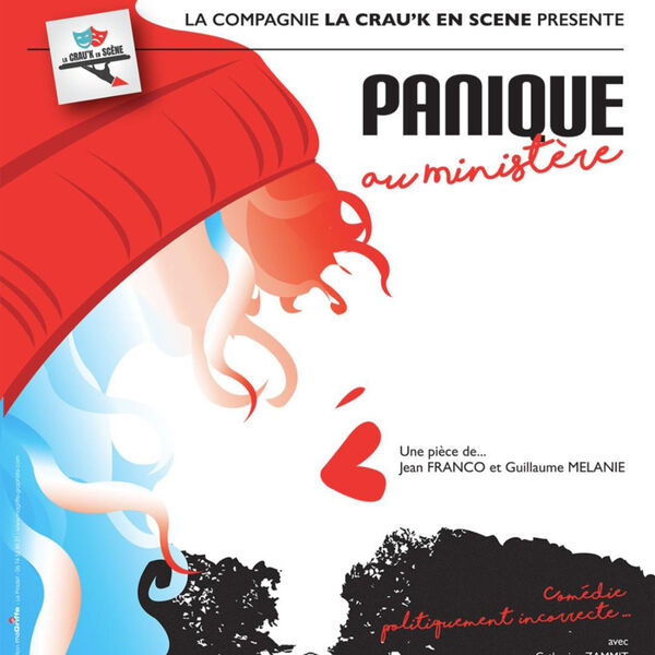 """Comedy """"Panic at the Ministry"""" by La Crau'k Cie on stage à Six-Fours-les-Plages - 0"""