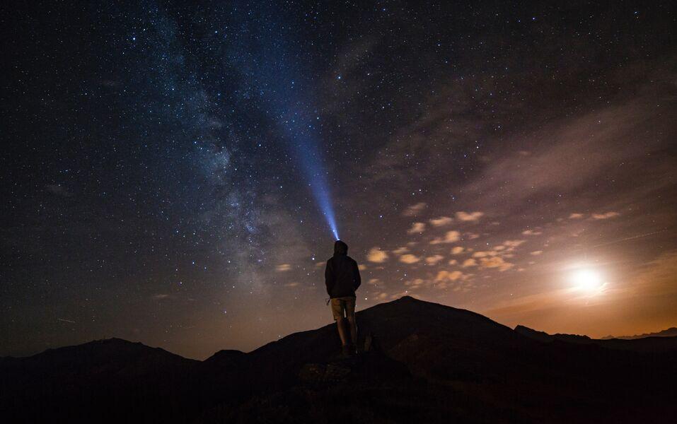 Night watch under the stars à Hyères - 1