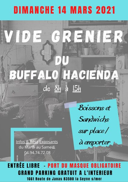 Buffalo Hacienda garage sale à La Seyne-sur-Mer - 0