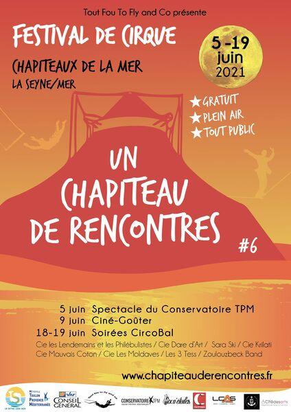 """Festival de cirque """"Un chapiteau de rencontres"""" 6e édition à La Seyne-sur-Mer - 0"""