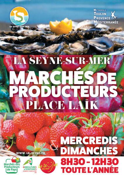 Local producers' market à La Seyne-sur-Mer - 0