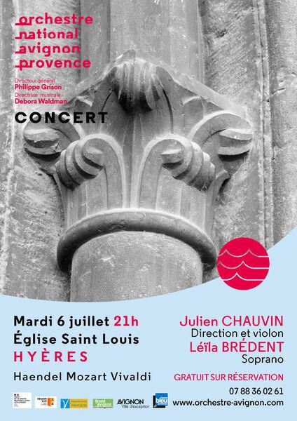 National orchestra concert à Hyères - 0