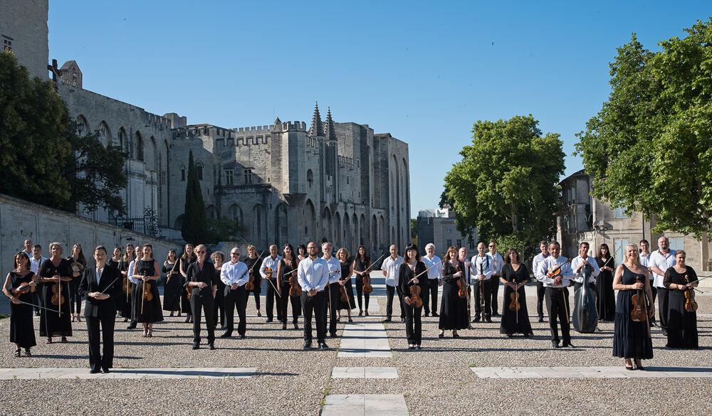 National orchestra concert à Hyères - 1