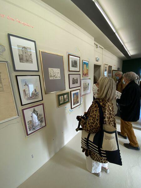 Exhibition in Villa Noailles about architecture à Hyères - 20