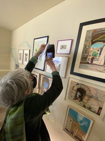 Exhibition in Villa Noailles about architecture à Hyères - 21