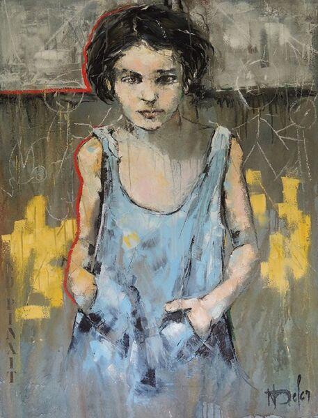 Exposition Nadine DEFER/ Peintures, Dessins, Sculptures. à Le Pradet - 0