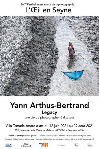 """Legacy"" exhibition by Yann Arthus-Bertrand à La Seyne-sur-Mer - 0"