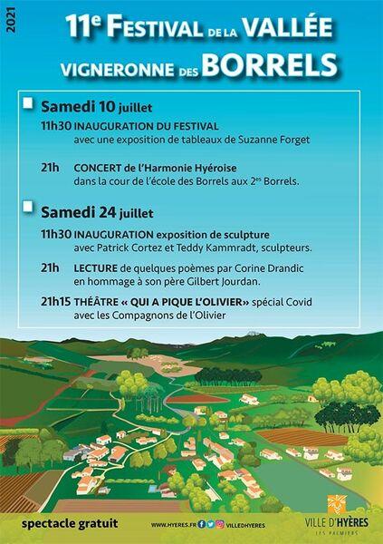 Festival Valley winemaker Borrel à Hyères - 0