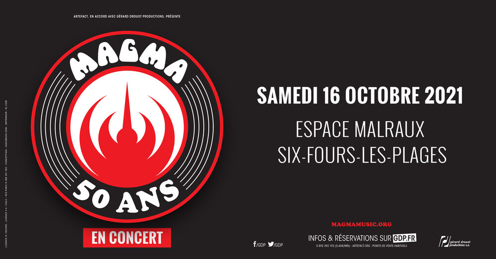"""Magma concert """"50 years later"""" à Six-Fours-les-Plages - 0"""