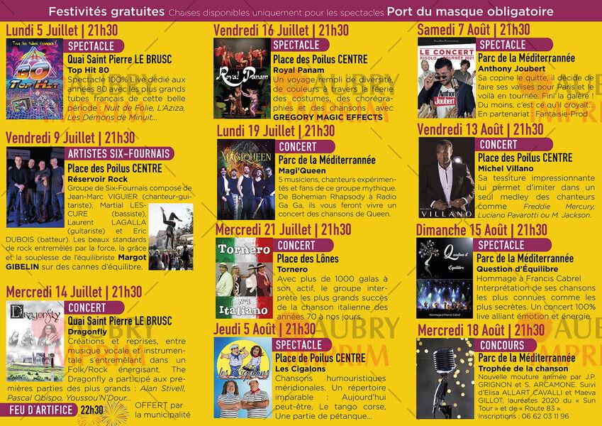 Top hit 80 show à Six-Fours-les-Plages - 2