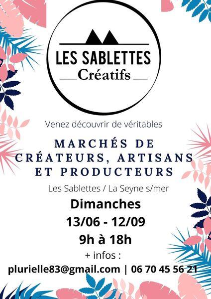 Les Sablettes créatifs: market of creators, craftsmen and producers à La Seyne-sur-Mer - 0