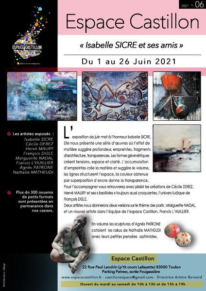 Artistes à découvrir / Isabelle Sicre et ses amis à Toulon - 0